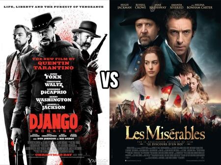 Django vs Les Miserables