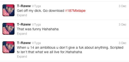 Tyga Tweets