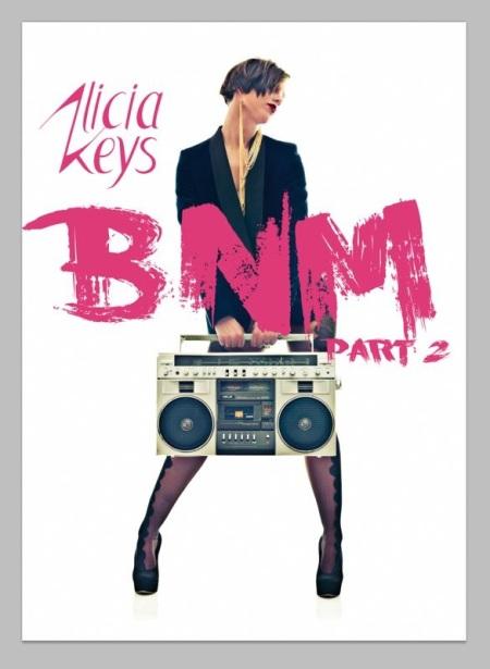 Alicia Keys BNM Part 2 Artwork