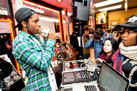 ASAP Rocky Long.Live.ASAP Listening Party At Black Star Video