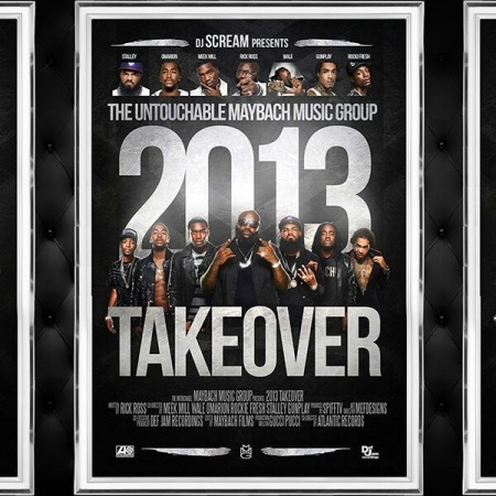 DJ Scream MMG Takeover Artwork
