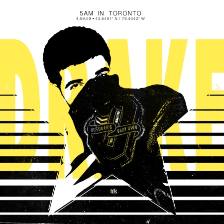 Drake 5AM In Toronto Artwork