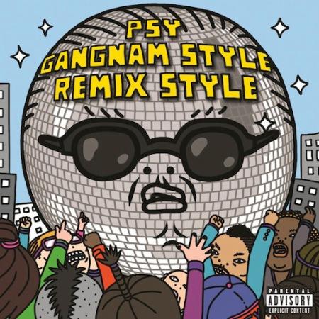 GANGNAM STYLE REMIX ARTWORK