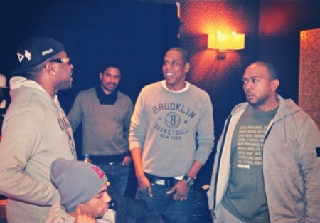 Jay-Z In The Studio With Timbaland x Mike Will MAde It