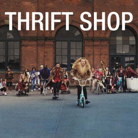 Macklemore Thrift Shop Artwork