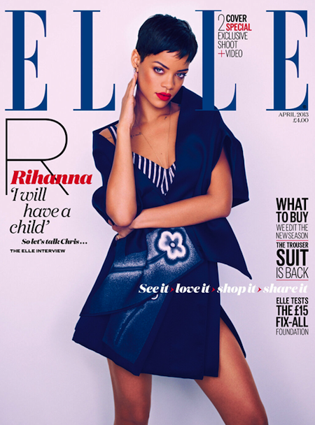 Rihanna Coves Elle UK ALT
