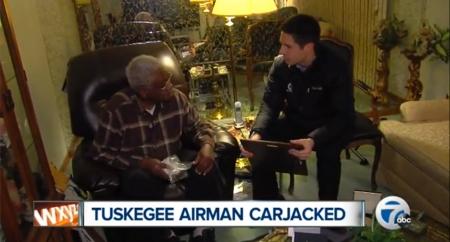Tuskegee Airman Carjacked