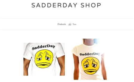 SADDERDAY SHOP