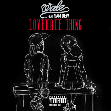 Wale Love Hate Thing Artwork