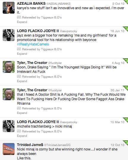 Old Rapper Tweets !