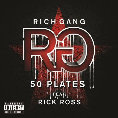 RICH GANG 50 PLATES ARTWORK