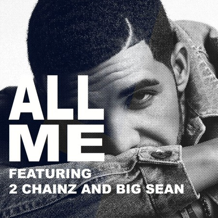 Drake All Me Artwork